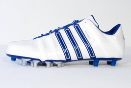 Adidas Scorch 8 Superfly White & Blue Low Football Cleats Mens NEW - $44.99