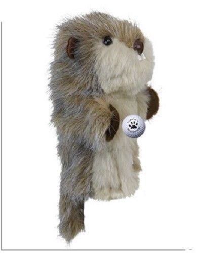 Primary image for Gopher w/ball  Daphne Head Cover-  460CC friendly Driver or Fairway Club