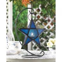 Sapphire Star Table Lantern - $29.00