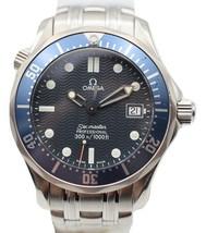 Omega Seamaster Ladies Blue Wave Dial Quartz Watch - $1,386.00