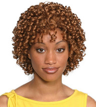 Fashion women short curly Aneesa wig Auburn