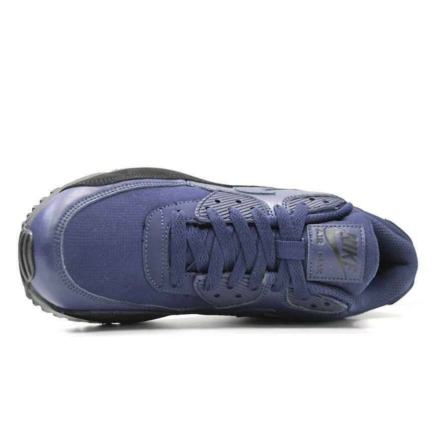 New Nike Air Max 90 AJ1285-007 Navy / Black Shoes Men
