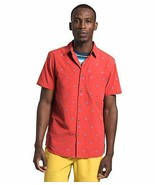 The North Face Men's S/S Baytrail Jacquard Button-Down Short-Sleeve Shirt - $64.90