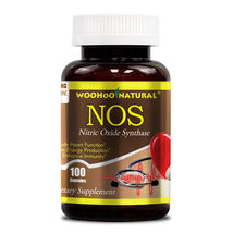 Woohoo Natural Nitric Oxide NOS - 100 Capsules FRESH, MADE IN USA - $26.86
