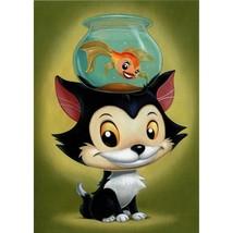 Disney Wonderground Gallery Figaro Art Postcard, NEW - $13.50