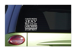 """Sexy Archer 6"""" sticker *G009* decal bowhunting deer stand buck grunt camo doe - $3.99"""