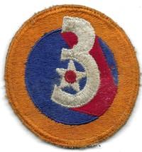 Vintage World War Ii Us Army 3rd Air Force Uniform Patch No Glow WW2 2 Usaaf - $14.84