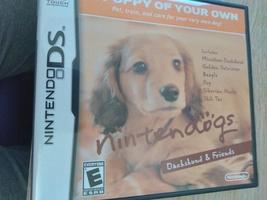 Nintendo DS Nintendogs: Dachshund & Friends image 1