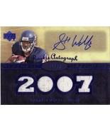 2007 Upper Deck Premier Rookie Autograph Blue Garrett Wolfe AUTO Jersey/99 - $10.50