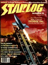 STARLOG #10, Dec.1977 - Ray Harryhausen,George Pal,Ralph Bakshi interviews - $7.50