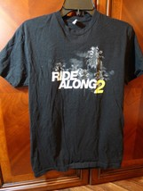Ride Along 2 Black T Shirt Tee Next Level Apparel Size Small Palm Trees ... - $18.70