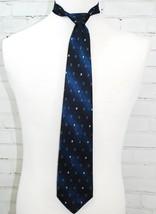 ROBERT TALBOTT BEST OF CLASS Mens Neck Tie Silk Blue Geometric Print Nor... - $118.79