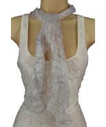 Nouveau Femme Pur Écharpe Mode Enveloppe de Cou Long Blanc Noir Rose Ble... - $22.56