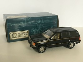 Brookfield Collectors Guild Jeep Grand Cherokee Coin Bank with Key Black... - $39.99
