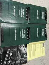 2004 DODGE DURANGO Service Repair Shop Manual Set W Data Book + Bulletin Page image 2