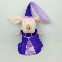 "Spin Master Olivia The Pig Purple Princess Plush 2011 Doll Stuffed Toy 9""  - $16.83"