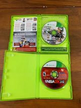 Xbox 360 5 Game Lot NHL FIFA Madden NBA Video Game Bundle Tested image 3