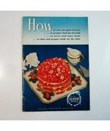 1949 Sears Roebuck Co. Coldspot Freezer Instruction Manual and Freezing ... - $10.99