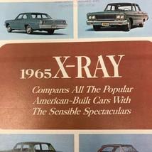 Vtg 1965 Oldsmobile X-Ray Promotion Magazine Compares Advertisement Spec... - $14.44
