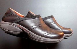 Women's Merrell Primo Patch Brown Leather Casual Loafer Sz. 8 Excellent! - $39.11