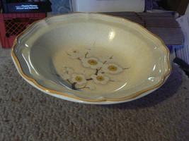 Mikasa White Petals round vegetable bowl 1 available - $9.85