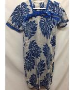 Handmade Unbranded Mu Mu Girls Dress Length 33 Inches Hawaiian - $9.89