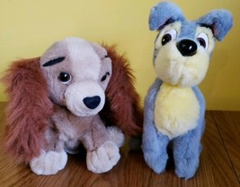 """Lady And The Tramp Disney Plush Vintage 9"""" - $14.58"""