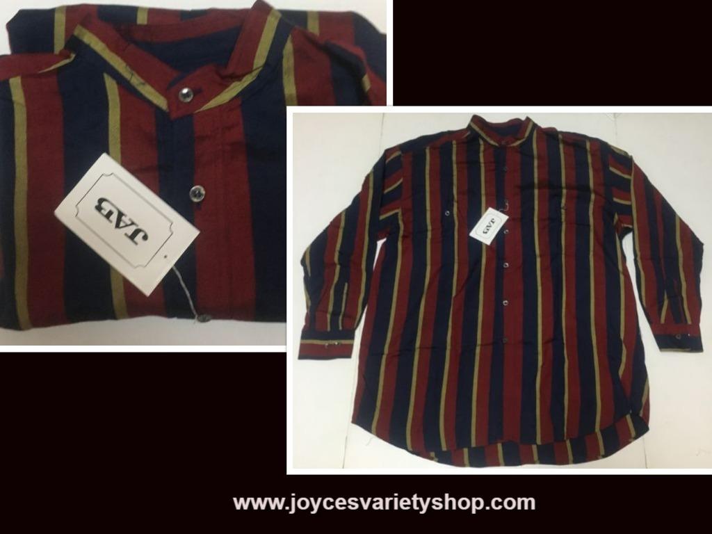 Blue striped jab silk shirt web collage