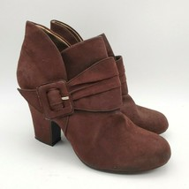 American Eagle Wedge Heel Fall Leather Booties Women's Ankle Boots Size 9 - $20.94