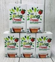 (5) Born Sweet Zing Organic Stevia Sweetener 0 Calorie Packets 80 Per Box - $49.50