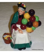 """The Old Balloon Seller"" HN1315 Royal Doulton Figurine GREAT MOTHER'S DA... - $130.94"