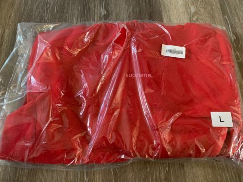Supreme Trademark Hooded Sweatshirt Hoodie Red Pink Size Large *IN Hand  FW18