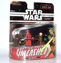 Star Wars Battle Packs Unleashed Jedi Masters Order 66 4 Pack - $24.08