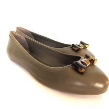 W-117254 Neuf Tory Burch Jolene Ballet Foncé Branche Chaussure Us Size-9.5 - $242.25