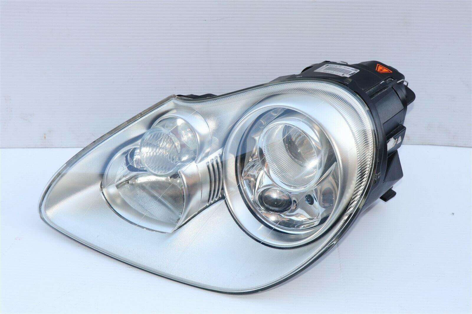 03-06 Porsche 955 Cayenne S Turbo Headlight Xenon HID Driver Left - LH POLISHED