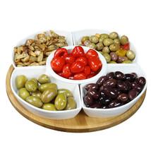 Elama Signature 12 1/4 Inch 6-Piece Lazy Susan Appetizer and Condiment S... - €37,00 EUR