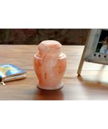 Carpel Rock Salt Biodegradable Funeral Cremation Urn Keepsake, 15 Cubic ... - $129.99