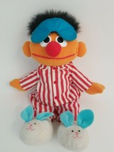 Tyco 1996 Sesame Street Sleep And Snore Ernie Talking & Singing Doll Vin... - $34.29