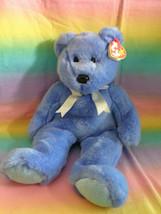 "Vintage 1999 Ty Original Beanie Buddy Clubby II Club Bear Retired w/ Tags 14"" - $9.85"