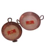 Traditional Pure Copper Jalebi Kadhai,Flat Wok for Jilebi,Jalebi Karahi - $196.00