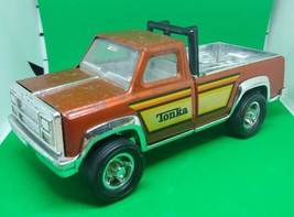 """Vintage Tonka Brown/Rust/Orange Truck Roll Bar Pressed Steel 7 1/8"""" - $12.86"""