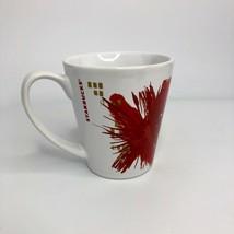 Starbucks Coffee Mug Cup 2014 Holiday Red Gold Christmas 11FL Oz - $4.99