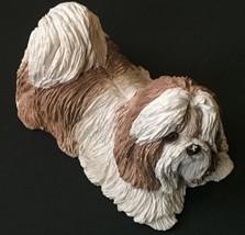 Vtg Sandra Brue Shih Tzu Long Haired Dog Figuri... - $19.79