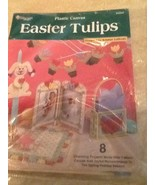 The Needlecraft Shop Easter Tulips Plastic Canvas 842634 - $6.92