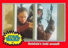 2004 Topps Heritage Star Wars #83 Amidala's Bold Assault > Natalie Portman Pa - $0.99