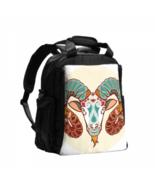 Diaper Bags Decorative Aries Zodiac Sign Symbol Simple Diaper Bag - $42.00