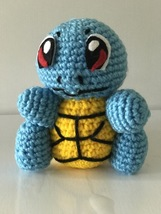 Handmade Crochet Tortoise doll 14cm H - $51.30