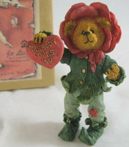 Boyds The Shoe Box Bears Collectibles Rosie Thornbeary Somebody Loves You 3234 - $14.35