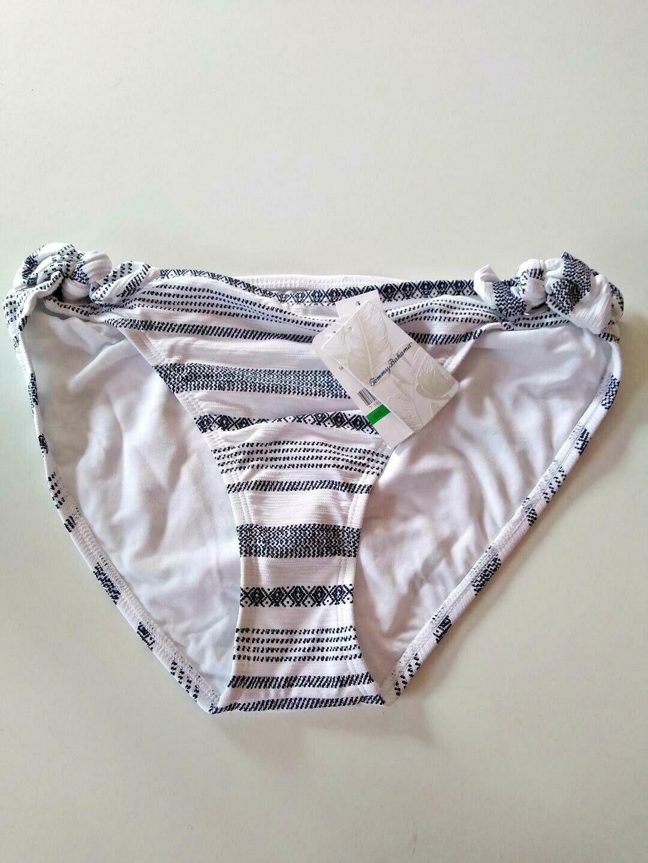 Tommy Bahama Sandbar Stripe Side Tie Bottom Size Large