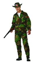 RG Costumes 85354 X - Large Jungle Commando Costume - Camo - $40.06